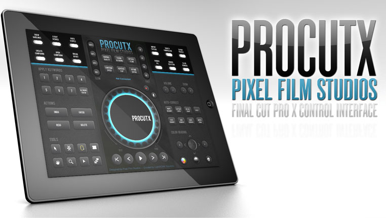 ProCutX - контроллер для FCPX на iPad